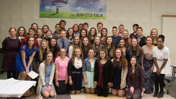 National Honor Society Students