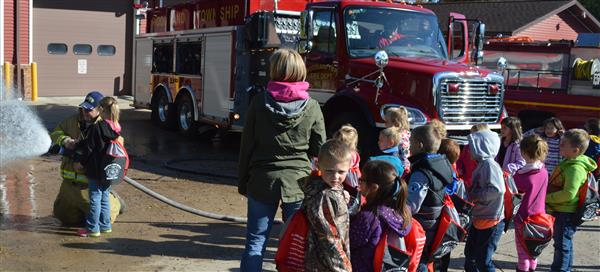 Field trip to fire station